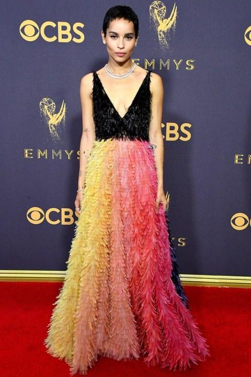 Zoe-Kravitz-Emmys-2017