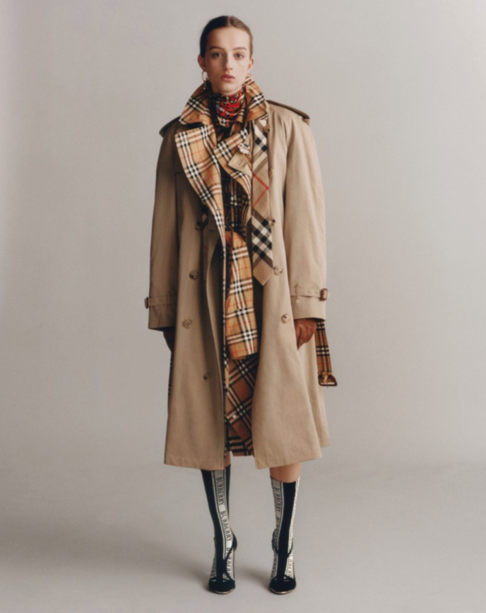 Burberry is Targeted for its Iconic Check Design